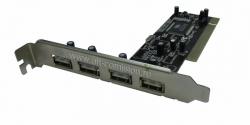 контроллер 4 port usb 2,0 via vt6212l