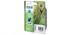 Оригинальный картридж Epson T0822 (голубой)