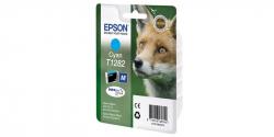 Оригинальный картридж Epson T1282 (голубой)