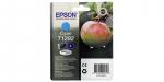 Оригинальный картридж Epson T1292 (голубой экономичный)