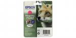 Оригинальный картридж Epson T1283 (пурпурный)