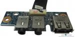 Плата USB/Audio для ноутбука Asus К53TA