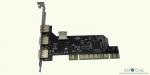 PCI контроллер 3 внешних и 1 внутренний порт USB 2.0