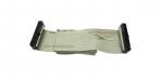 Шлейф для ПК IDE 34 pin 2 разъема (белый)
