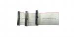 Шлейф для ПК IDE 34 pin 3 разъема (белый)