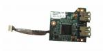 Плата USB + кардридер + шлейф HP Compaq 6710b (443883-001)